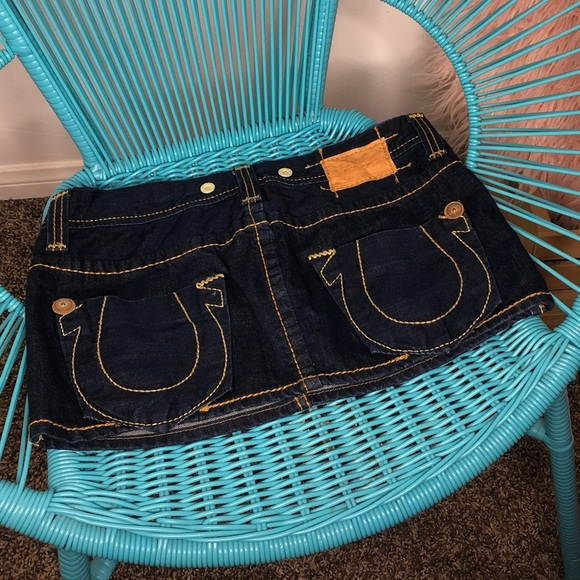 True Religion Dresses & Skirts - True Religion denim skirt size 27